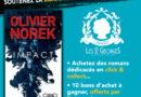 Olivier Norek en dédicace virtuelle à la Librairie des 2 Georges